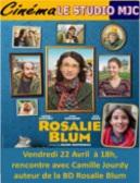 Rosalie Blum : Camille Jourdy à la rencontre de son public au cinéma Le Studio à Dole (39)