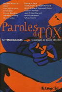 Paroles de Tox - collectif - Futuropolis