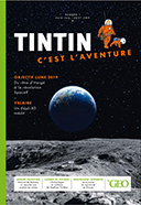 Tintin le globe-trotter et le Geographical Magazine