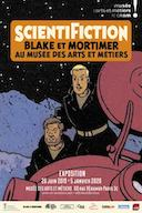 L'exposition Scientifiction (Blake & Mortimer) fermée pour cause de canicule.
