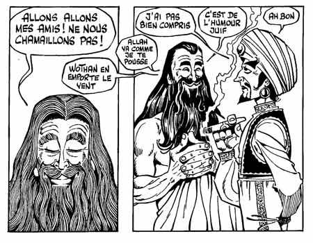 Islamophobie, le nouveau fléau français - Page 2 31---Gotlib-Gods-Club-2