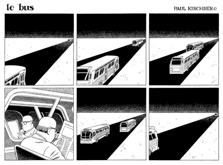 Le Bus – Par Paul Kirchner – Editions Tanibis