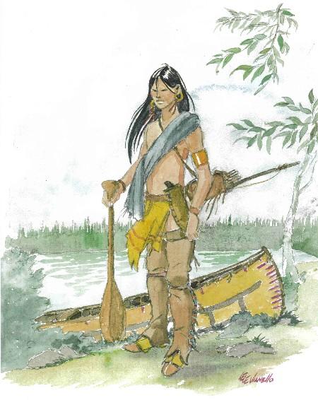 Souvenirs du chamane Amérindien dans AMERINDIENS Lele_Vianello_Amerindiens