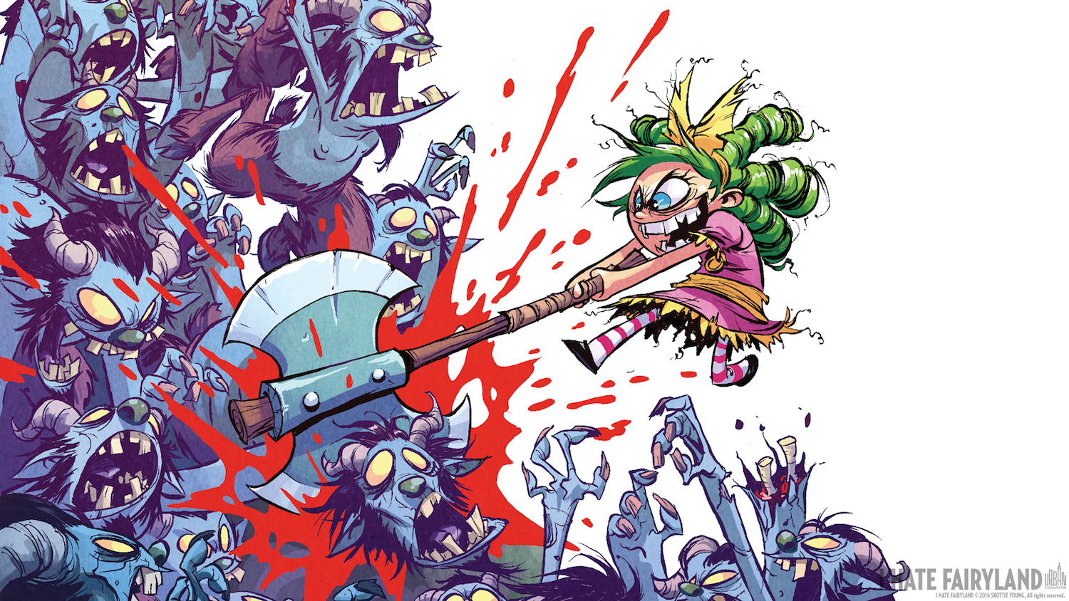 I Hate Fairyland Intégrale Livre 1 - Skottie Young - Urban Comics