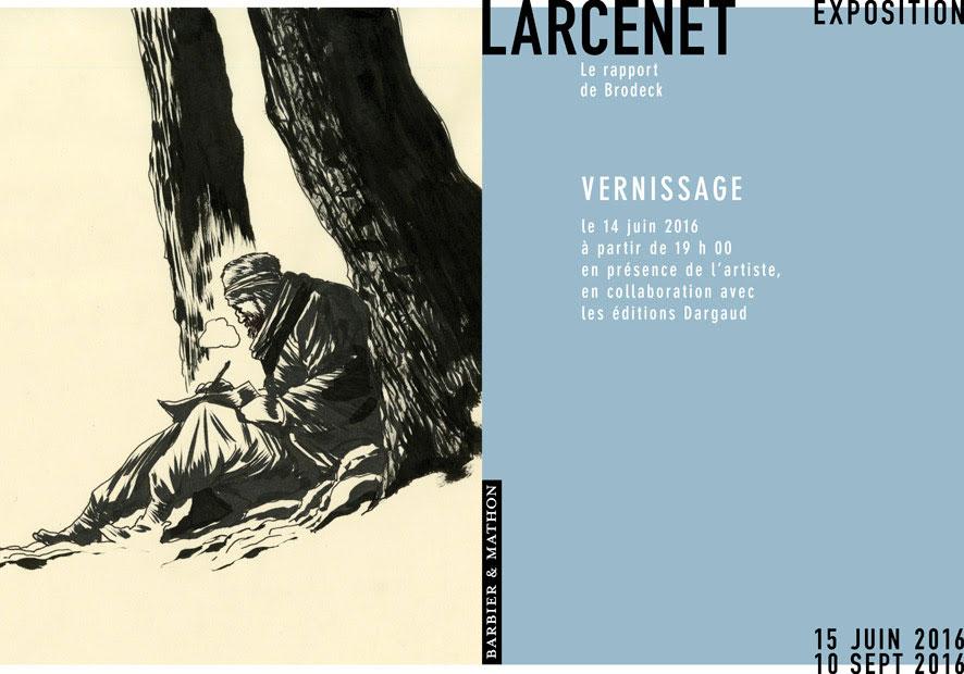 Larcenet expose le rapport de brodeck la galerie barbier et actuabd - Metro notre dame de lorette ...