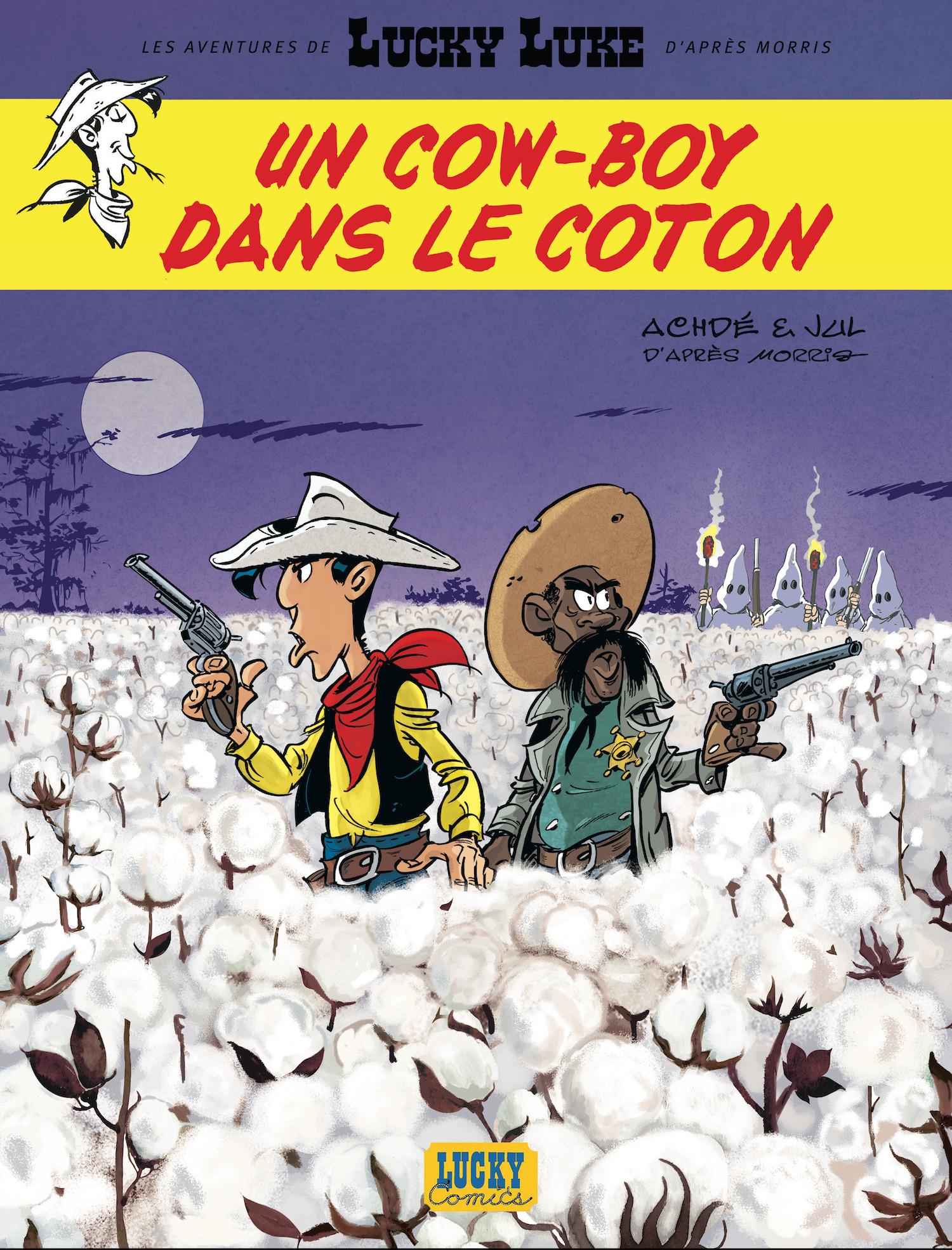 """""""Un Cowboy dans le coton"""" : le prochain Lucky Luke sera politique"""