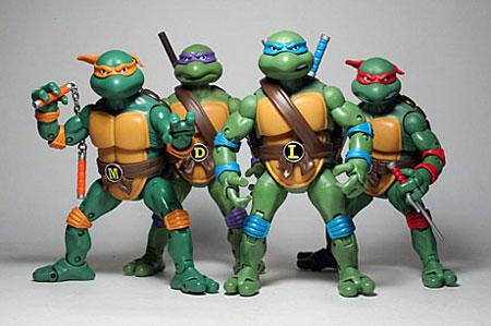 La fantastique histoire des tortues ninja 6e partie - Les nom des tortues ninja ...