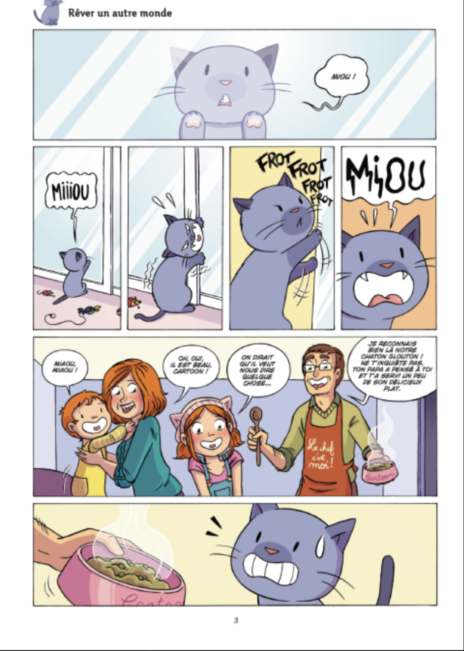 Mistinguette & Cartoon T. 4 : Entre chats - Par Greg Tessier & Amandine - Jungle