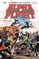 Alpha Flight : L'Intégrale 1978-1984 – Par John Byrne & Chris Claremont – Panini Comics