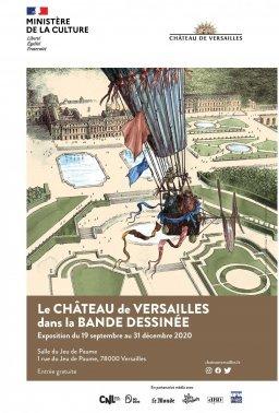 Exposition Le Château de Versailles en BD Fa5f5337e3628f1784382704b81e7c