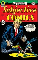 Donald Trump, super-héros de comics