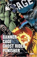 Banner Cage Ghost Rider Punisher – Richard Corben – Panini Comics