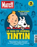 Paris-Match rend hommage au Journal Tintin