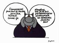 Philippe geluck va enfin faire de la bande dessinée actuabd
