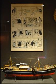 Coloriage Bateau La Licorne Tintin.Moulinsart Revele Tous Les Secrets De La Licorne Actuabd