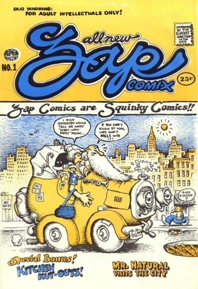 Les comics que vous lisez en ce moment - Page 7 Zap-comix-01-d0555