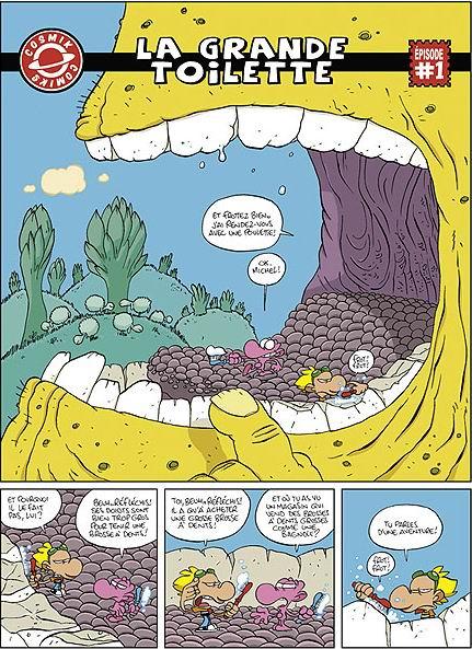Samson et n on t7 cosmik comics par tebo gl nat - Samson et neon ...