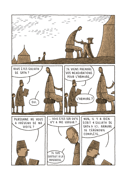 Goliath – Par Tom Gauld – L'Association