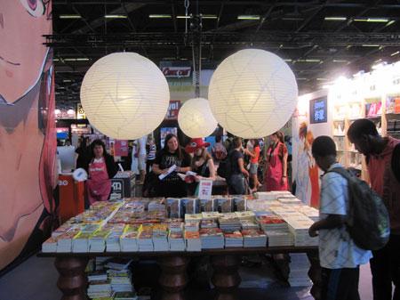 Salon du livre 2012 o en est le manga en france actuabd for Salon du manga paris juillet