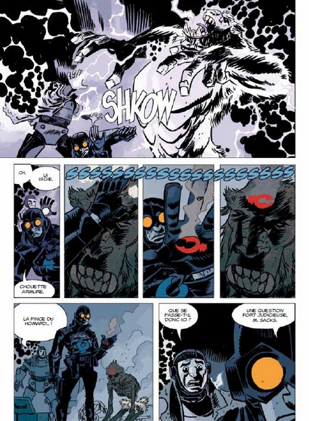 Lobster Johnson T1 - Par Mike Mignola, Jason Armstrong et Dave Stewart - Delcourt - Traduction Jérôme Wicky