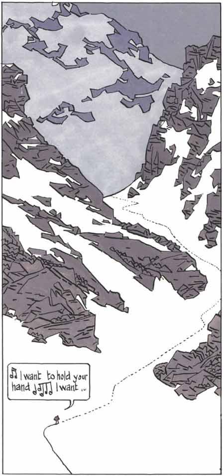Cosey, L'espace bleu entre les nuages, 1979