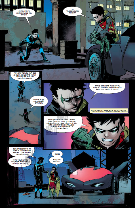Nightwing Rebirth T3 - Par Tim Seeley, Javier Fernandez & Minkyu Jung - Urban Comics