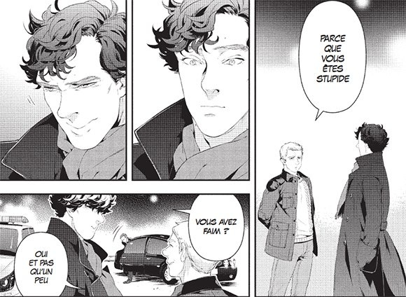 Sherlock : la version manga