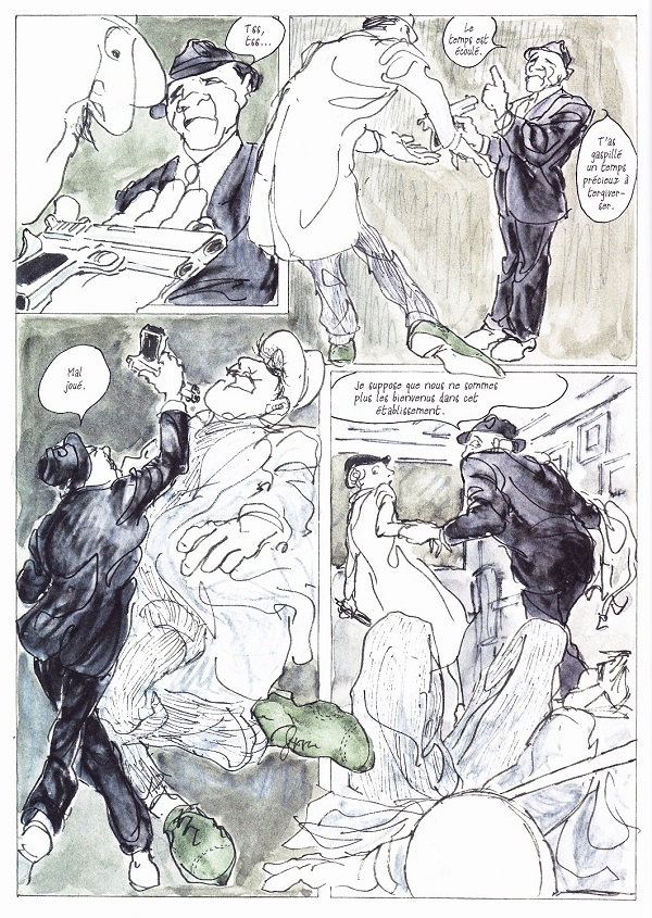 Kill my Mother – Par Jules Feiffer – Acte Sud BD