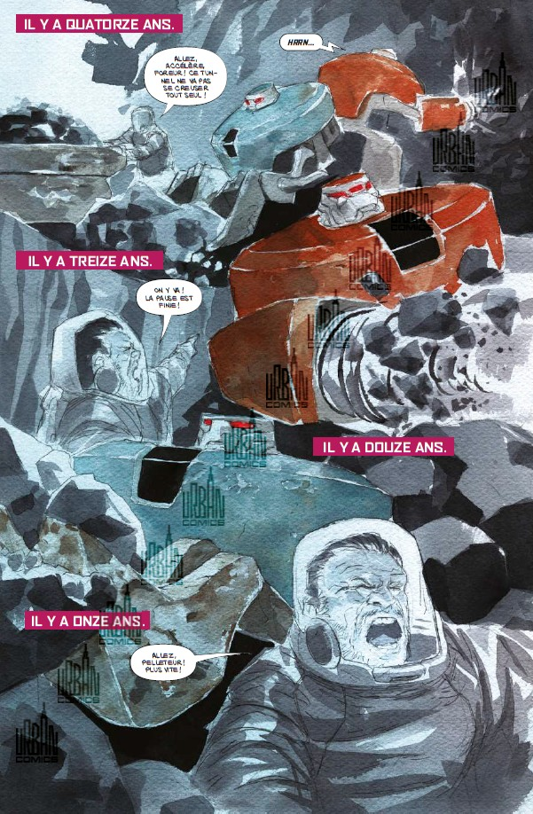 Descender T3 - Par Jeff Lemire et Dustin Nguyen - Urban Comics