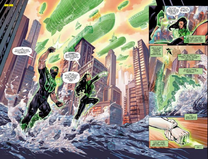Batman vous présente son imposant jet privé — Justice League