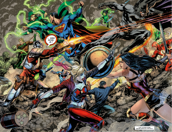 Justice League vs Suicide Squad - Urban Comics