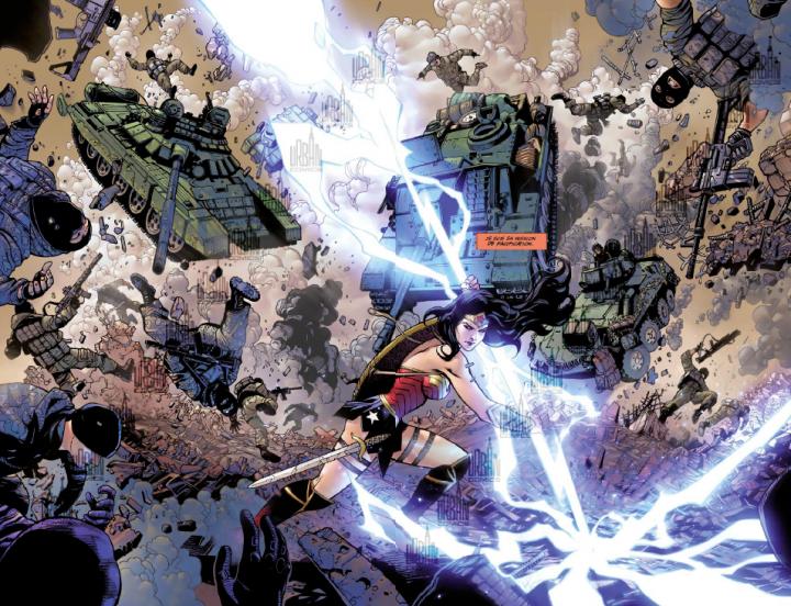 Nouvelle bande-annonce toujours sans Superman — Justice League