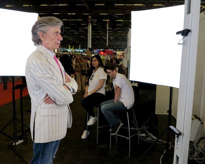 Japan Expo 2016 : Jean-Pierre Dionnet en 3D